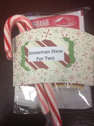 Snowman stew
